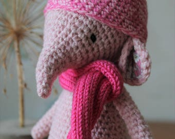 Hand crafted Pink Elephant