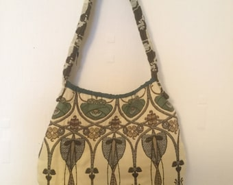 Handbag in William Morris material