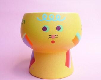 Plant Flower Vase - yellow