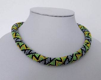 Zigzag Necklace / Used for protection