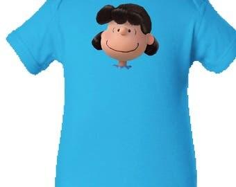 Lucy Onesie /Infant Shirt, Charlie Brown, The Peanuts Onesie/Infant Tee