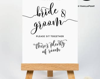 Printable Wedding Seating Sign Wedding Seating Poster Wedding Reception Signs Rustic Wedding Sign No Seating Plan Sign Ceremony Seating Sign
