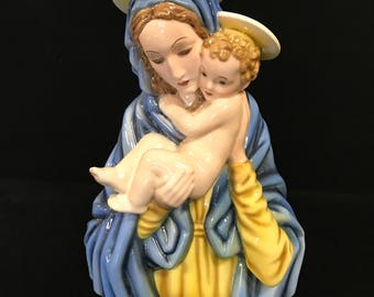 Madonna with Child figurine