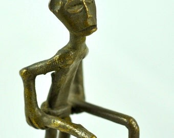 Vintage Bronze Ashanti Goldweight, Ghana, West Africa - BR508