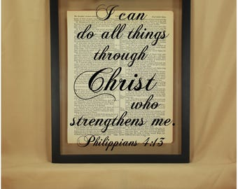 Philippians 4 13, Philippians 4, Philippians, Philippians 413, Philippians 4 13 Sign, I Can Do All Things, I Can Do All Things Wall Art