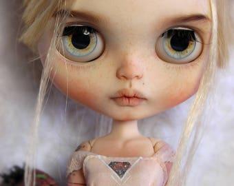 "RESERVED for Patricia Prisce - Custom Blythe Doll ""Sita"" + Snow Monkey Critter ""Hanuman"" by Mjusi"
