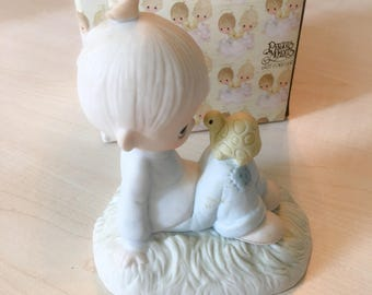Vintage Precious Moments Love Is Kind Figurine E-1379/A