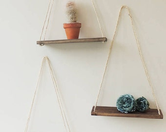 Hanging Shelves hanging shelves | etsy