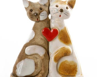 Unusual Couple | Loving Each other | Red heart | Quirky Gift