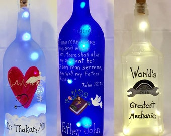 Custom Bottle Light
