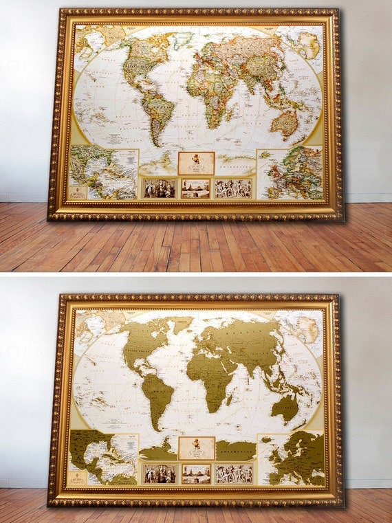 Unique wedding gift for couple scratch world map unique wedding gift for couple scratch world map 346x248 gift for couple personalized wedding gift gift for bridegift for groom gumiabroncs Gallery