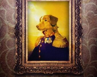 Vintage dog art, custom portrait, dog art, custom dog portrait, pet portrait custom, pet portrait, dog portrait, cat portrait, dog painting