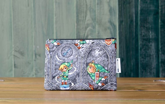 Legend of Zelda zipped pouch