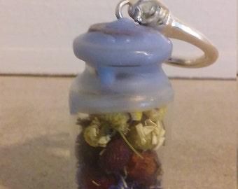 Fertility Charm Bottle Keychain