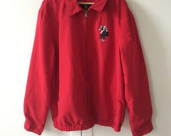 Retro US Polo Assn. Red Jacket