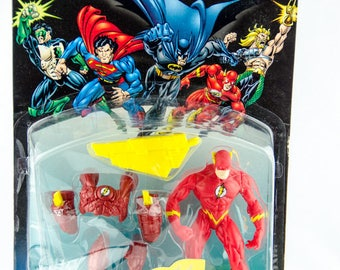 Vintage 1996 Hasbro Kenner Total Justice The Flash Action Figure Justice League