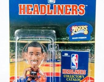 NBA Headliners Allen Iverson Figure Philadelphia 76ers