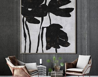 Textured Painting Large Wall Art Canvas Painting, Acrylic Painting on Canvas, Modern Art- Ethan Hill Art No.H131S