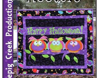 Halloween Hooters Applique Pattern