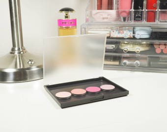 Small Magnetic Palette Black - Makeup Palette - Makeup Organize - Fits 12 Eyeshadows*