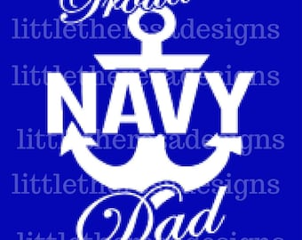 Proud Navy Parents Transfer,Digital Transfer , Digital Iron On , DIY