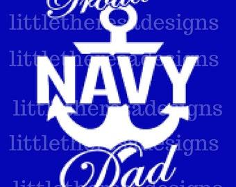 Proud Navy Parents Transfer,Digital Transfer , Digital Iron On , DIY
