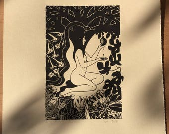Eve limited edition screen print