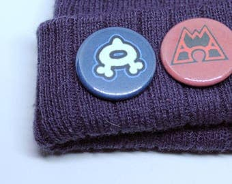 Team Pokemon Badges