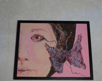 Metamorphosis - Butterfly painting