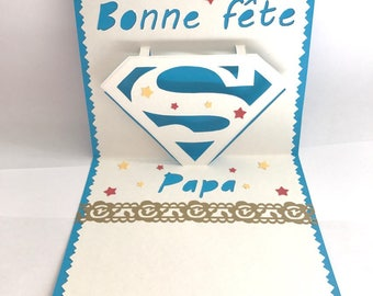 """Card hand made father's day."""""""