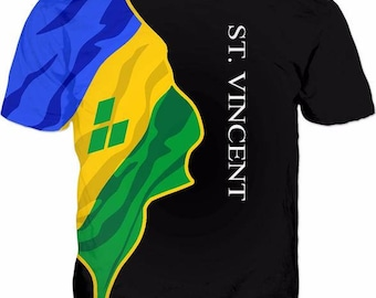 St. Vincent Men's Classic Flag Shirt