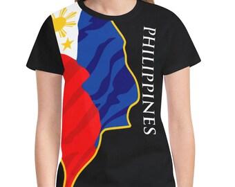 Philippines Ladies Classic Flag Shirt 2.0