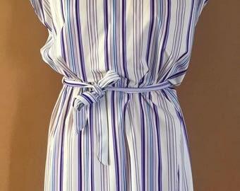 Vintage 1960's striped dress