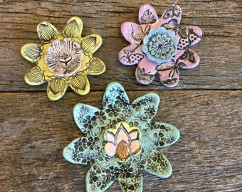 Wallflower Pastel Earth Set of 3