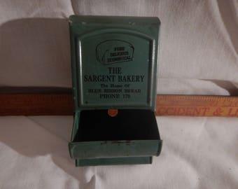 Vintage Match Holder - The Sargent Bakery
