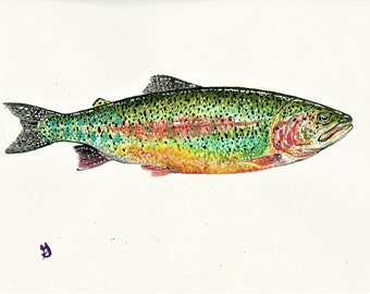 Trout Bookmark