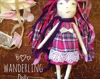 Heirloom Doll // Cloth Doll // Heirlom Doll // Wanderling Doll