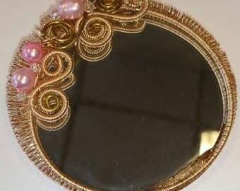 Dollhouse mirror