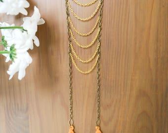 """Long necklace Bohemian """"Jayani"""""""