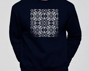 CROSS sweatshirt. Unisex. Cotton. sweatshirt, sweater, top, fall, winter, print, illustration