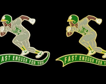 Rickey Henderson Fast Enough For You Phish Lapel Pin