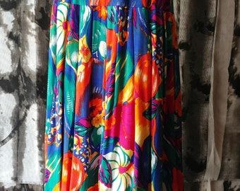 Tropical Fruits Full Skirt