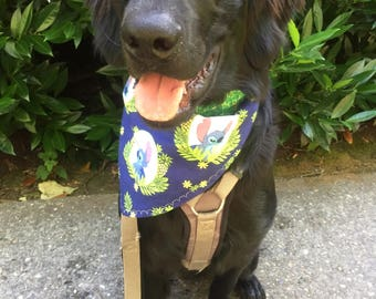Lilo & Stitch Tie-On Dog Bandana Reversible