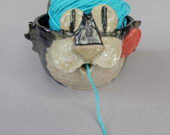 Kitty Cat Yarn Bowl
