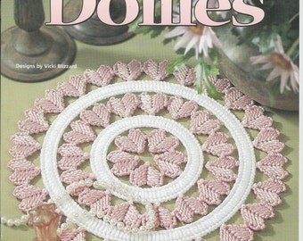 Plastic Canvas Doilies, 7 Equisite Designs, House of White Birches Pattern Booklet #181055