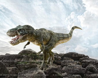 Dinosaur - Digital Backdrop / Background
