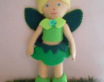 Handmade Felt Fairy Doll