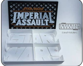 Star Wars Imperial Assault Card holders