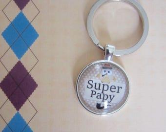 "Gift for Grandpa: doors-keys ""SUPER Grandpa"""
