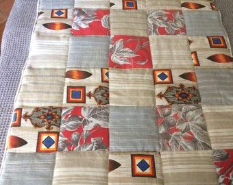 Quilt or bedspread patchwork